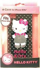 Hello Kitty #HK-IPH4-GRPK-WM Durable Shell Protective Case Fits iPhone 4/4s, New