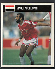 Orbis 1990 World Cup Football Sticker - No 490 - Magdi Abdel Gani - Egypt