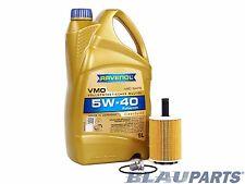 VW TDI Oil Change Kit Jetta MKV BRM Pumpe Düse - 05-06 - RAVENOL VW 505 01 Oil