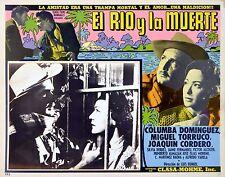 RIVER AND DEATH 1957 Luis Buñuel Jaime Fernandez MEXICAN LOBBY CARD