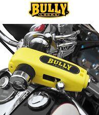Bully Grip Lock Brake Lever YELLOW Security Anti Theft Handlebar Kawasaki