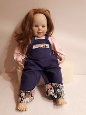 Zapf Puppe Brigitte Leman - Künstlerpuppe Sammlerpuppe 60 cm selten doll 1989