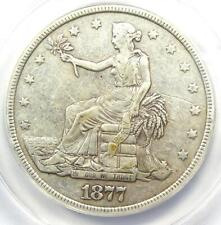 1877 Trade Silver Dollar T$1 - ANACS VF20 Detail  - Rare Certified Coin!