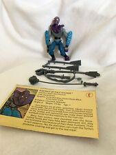 TMNT 1988 Foot Soldier Figure Complete Teenage Mutant Ninja Turtles with card