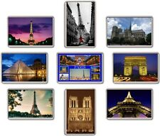 FRIDGE MAGNET - PARIS (Various) Large Jumbo, France
