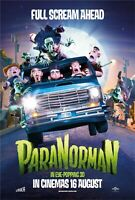 Paranorman movie poster (b)  : 11 x 17 inches : Animation