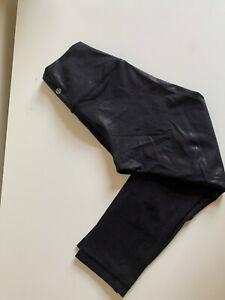 lululemon size X small leggings  black