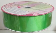 New Huge Roll Of Wire-Edge Green Ribbon • All Occasion • Baskets • Father's Day