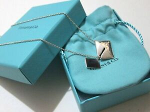 Tiffany Co. Charms Sweet Nothings Envelope pendant in sterling silver