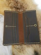 100% genuine snake skin long wallet all by hand made in USA