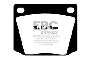 EBC 63-69 Ac Cobra 4.7 Greenstuff Front Brake Pads - ebcDP2169