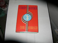 Stormy Weather by Carl Hiaasen (1995, Hardcover) SIGNED 1st/1st