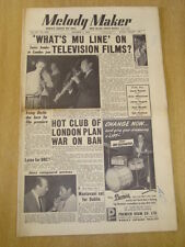 MELODY MAKER 1954 SEPTEMBER 25 MUSICIANS UNION HOT CLUB MANTOVANI IRVING BERLIN