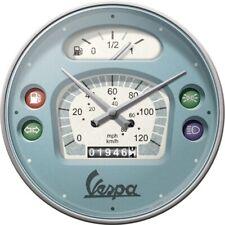 Vespa Tacho Roller Nostalgie Wanduhr Glas 31 cm Wall Clock Neu