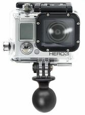 "RAM MOUNT RAM-RAP-B-202U-GO 1"" Diameter Ball with Custom GO Pro Hero Adapter"
