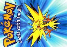 POKEMON MANGA-01 1999 CROMO CARD (CARTE) N°   74 #145 ZAPDOS ELECTHOR