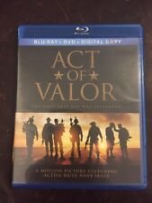 Act of Valor (Blu-ray Disc, 2012, 2-Disc Set