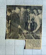 1949 Mid Essex Technical College Chelmsford Blacksmithing Courses Continue