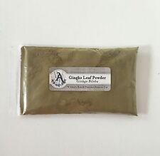 1 oz. Ginkgo Leaf Powder (Ginkgo Biloba) <28 g / .063 lb> Gingko