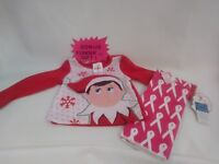THE ELF ON THE SHELF size 3t Shirt or sleep top  PINK RED nwt & Gift
