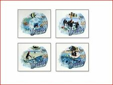 VAN0804 Life underwater fish and oceanarium 4 self-adhesive