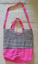 Victoria's Secret Stripe Beach Bag Tote - Pre-owned