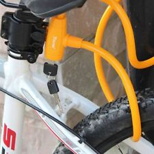 Bicycle Bike Security Pad Tire Lock With Keys Bicycle Accessories