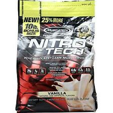 Muscletech Nitro Tech - Performance Series Vanilla 10 lbs