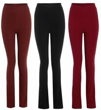 Straight Leg Mid Stretch Trousers for Women