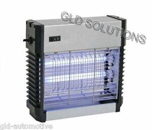 LAMPADA UV-A ELIMINA INSETTI 2 x 6 W da Parete Soffittto - Inodore Silenzioso