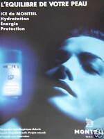PUBLICITÉ PAPIER 1992 MONTEIL PARIS CRÈME EXTRÊME - ADVERTISING