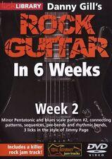 Lick Library Danny Gill's Rock Guitarra En 6 Semanas aprender a jugar Jimmy Page 2 Dvd