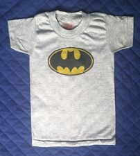 Grey Children's Batman T-Shirt Size XS