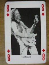 TED NUGENT - KERRANG PLAYING CARD