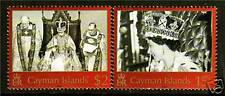 Cayman è. 2003 cinquantesimo anniv INCORONAZIONE SG 1011/2 MNH