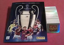 PANINI COMPLETO Champions League 11/12 + ALBUM VUOTO album tutti gli adesivi 2011/2012