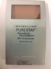 Maybelline Pure Stay Powder Foundation MOCHA #140 NEW.