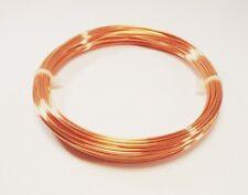 18 Ga Copper Wire  Round Soft  2 Oz. 28 Ft. Coil  Solid bare Copper