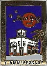 Hard Rock Cafe PUERTO VALLARTA 2000 10th Anniversary PIN Facade