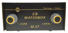 M27 ZETAGI CB-Funk Antennentuner (Matcher) für 26 - 28 MHz bis 500 Watt ...