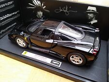 MATTEL ELITE T6255 FERRARI ENZO model car as owned by Jay Kay Jamiroquai 1:18th