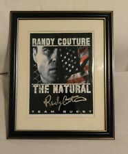 """Randy """"The Natural"""" Couture Signed UFC 11x14 Photo / Picture Autographed. MMA"""