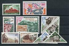 Kongo kleine postfrische Sammlung Eisenbahn ..............................1/1741