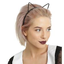 Black Women Girls Kids Plastic Headband Hair Band Cat Ear Party Costume Dress