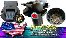 Trailer Socket Adapter 7-Way RV Chevrolet, Chevy, Hummer Isuzu Olds, EA 924-307