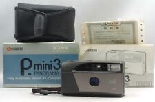 @ Ship in 24 Hrs! @ Mint! @ Kyocera P. mini 3 Panorama Compact 35mm Film Camera
