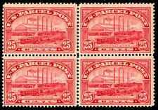 momen: Us Stamps #Q9 Block of 4 Mint Og Nh Cv$760