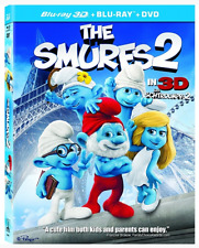 The Smurfs 2 In 3D with Slip Cover  (3D Blu-ray + Blu-ray)