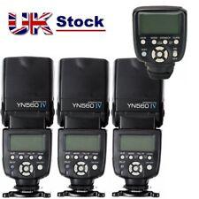 Yongnuo YN560-TX II Wireless Controller + 3 x YN-560 IV Flash for Nikon DSLR UK