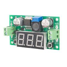 LM2596 DC--DC Buck Step Down Converter Module Voltage Regulator + Led Voltmeter